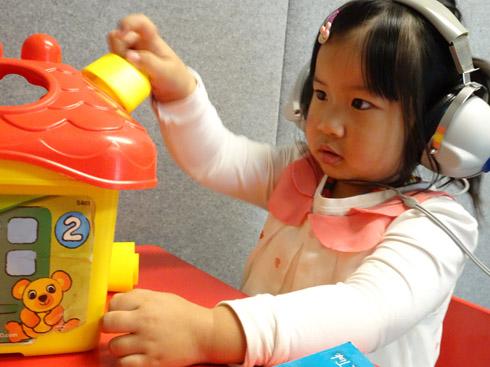 child hearing test