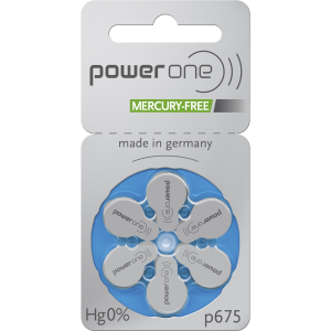 PowerOne Battery size 675