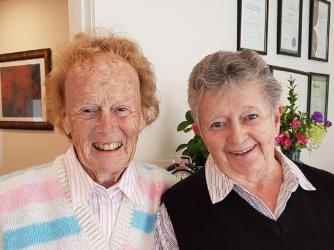 Lois Grant & Margaret Kerr