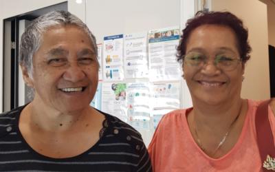 Sheila Moetara and Hine Whiunui